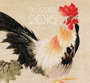 Flyer für das Silvestermenü im Sushi Restaurant Sushiya München