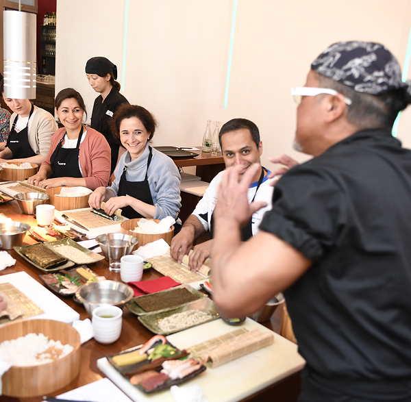 Sushi Kurs München im Sushi Restaurant Sushiya