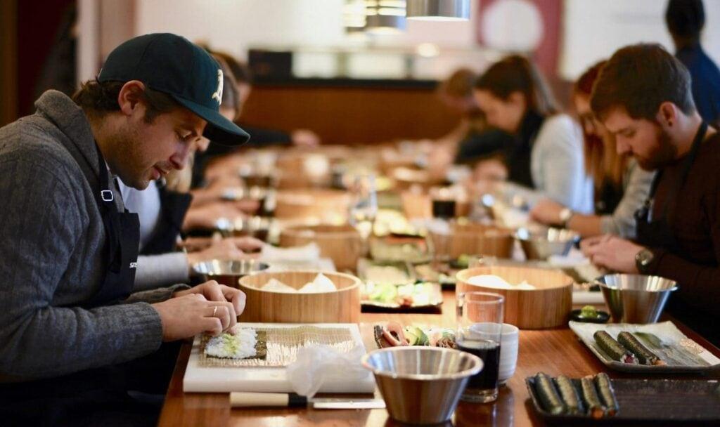 Sushi Kurs im Sushi Restaurant Sushiya München