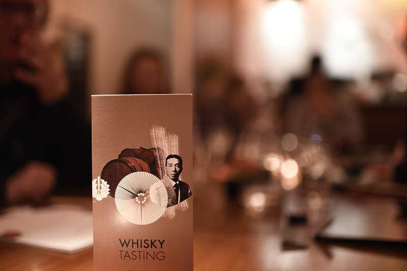 japanisches Whisky Tasting München im Sushi Restaurant Sushiya