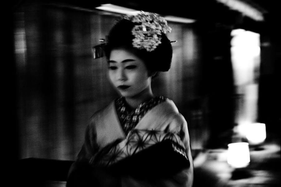 Bild einer japanischen Frau