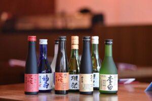 Sake Tasting im Sushiya Sushi Restaurant München