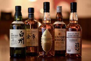 japainisches Whisky Tasting in München im Sushiy Restraurant Sushiya