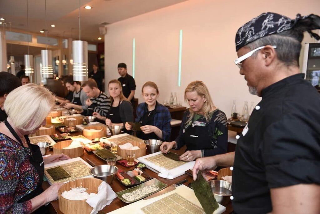 Sushi Einsteiger Kurs im Sushiya Sushi Restaurant München