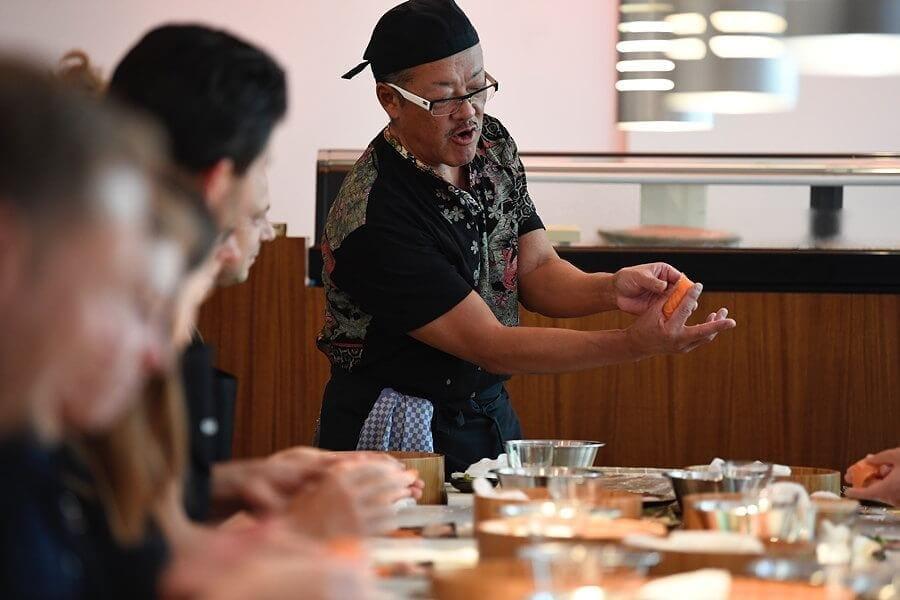 Sushi Kurs im Sushiya Sushi Restaurant München